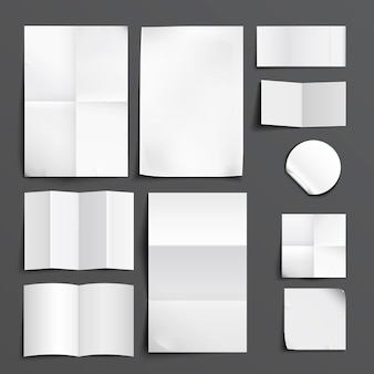 Set di raccolta della carta