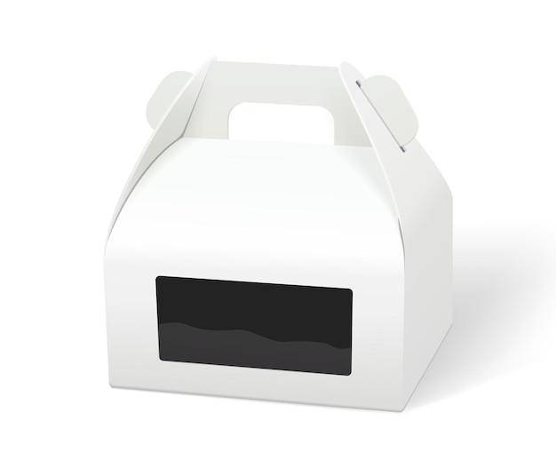 Prototipi di imballaggi di scatole per alimenti in carta