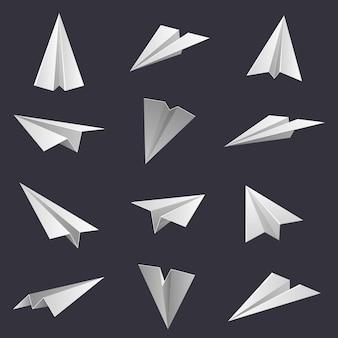 Aeroplanini di carta