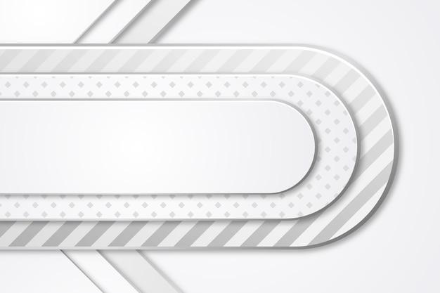 Sfondo monocromatico bianco stile carta