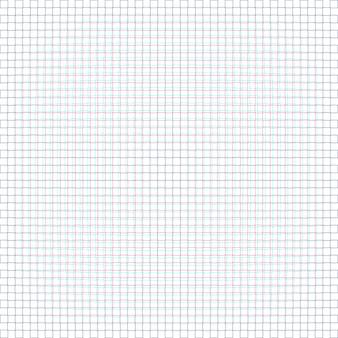 Parametrico anaglif quadrato netto sfondo bianco decorazione fondale