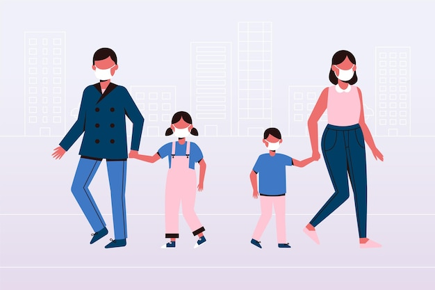 Genitori con figli