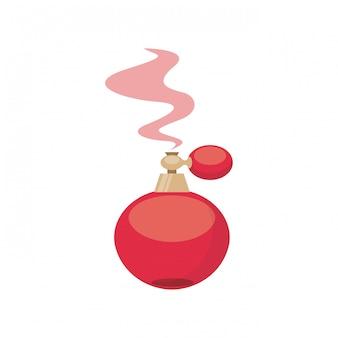 Icona della bottiglia di profumo di parigi