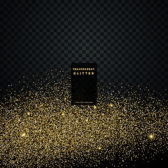 Priorità bassa di celebrazione di scintillio dorato della particella