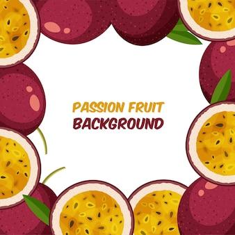 Cornice di frutto della passione