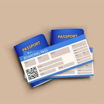 Bandiera del passaporto