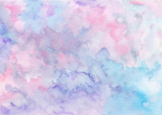 Pastello texture astratta sfondo con acquerello