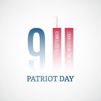 Banner del giorno del patriota