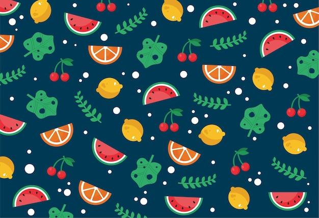 Motivo di sfondo frutta