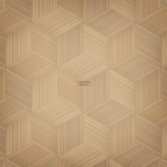 Modello di cestino di bambù. modello naturale e texture per lo sfondo.