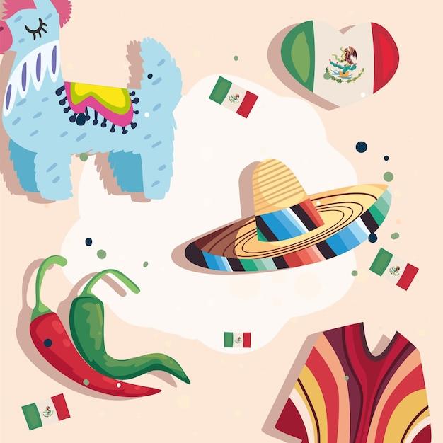 Modello di celebrazione messicana