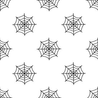 Lo schema della ragnatela per halloween