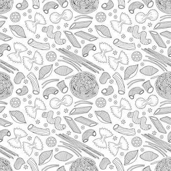 Pattern con pasta