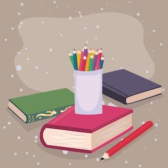 Portamatite e libri