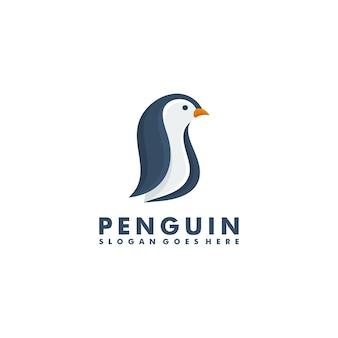 Design del logo del pinguino