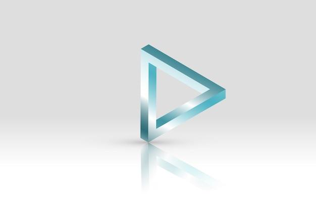 Triangolo di penrose vector