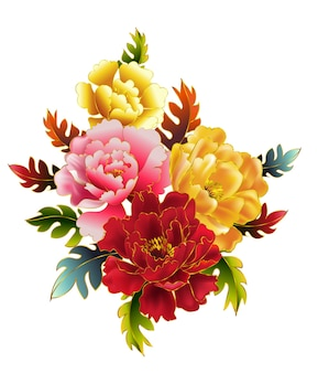 Fiore di peonie