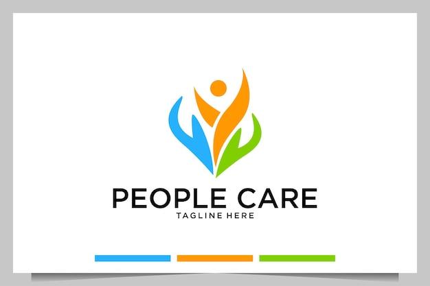 Alle persone interessa il design moderno del logo
