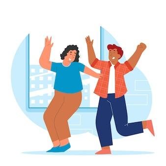 Persone che ballano