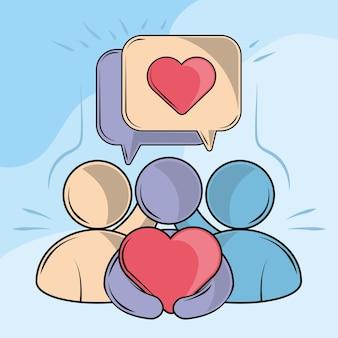 Amicizia e cura delle persone