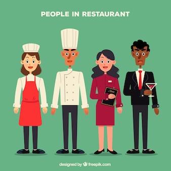 Persone nella collezione di ristoranti