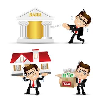 La gente imposta il concetto di debito aziendale