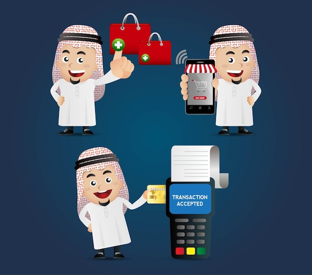 People set e shopping mobil pagamenti