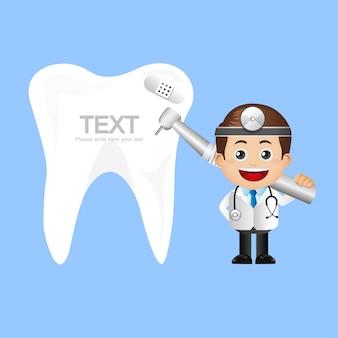 Set di persone - professione - dentista