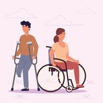 Persone con incapacità