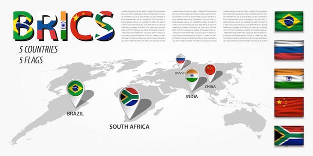 Mappa mondiale della prospettiva e perno di localizzazione gps