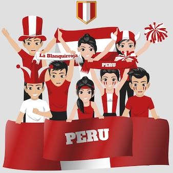 Sostenitore della squadra nazionale peru