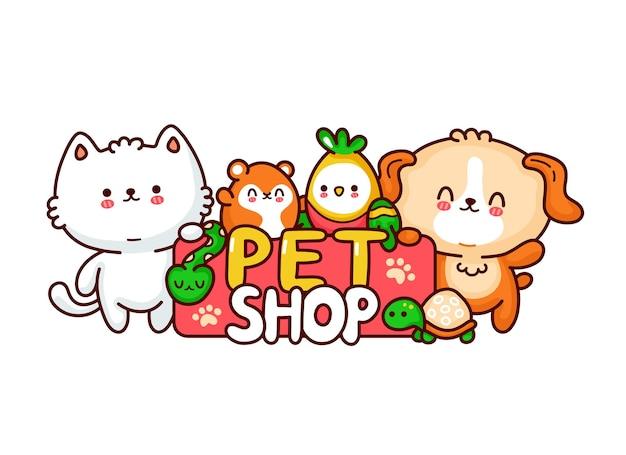 Design del logo del negozio di animali