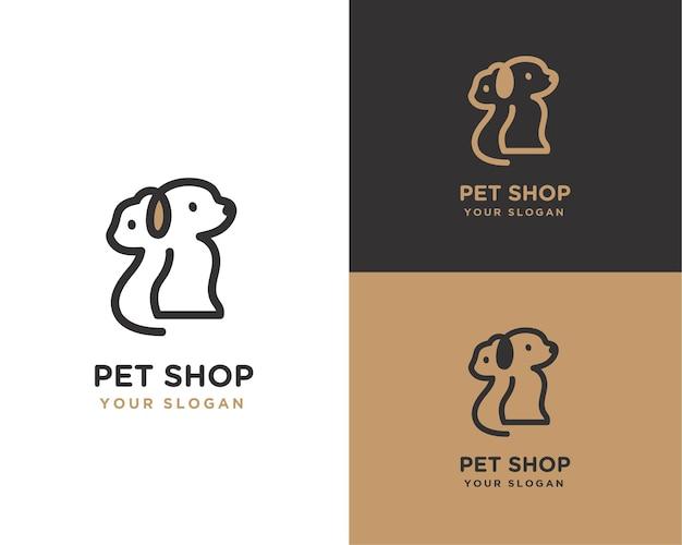 Logo del negozio di animali