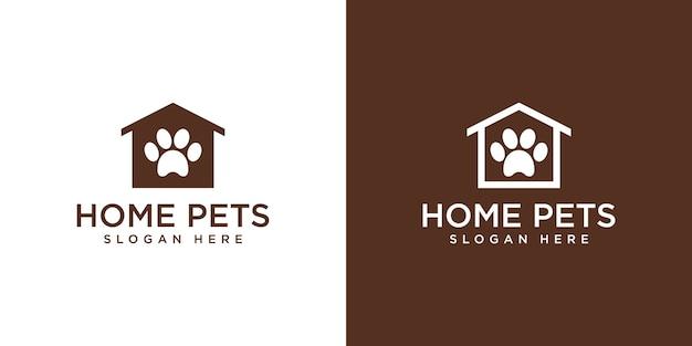 Logo domestico di animali domestici