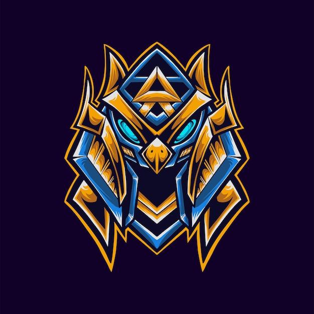 Mascotte del logo del faraone