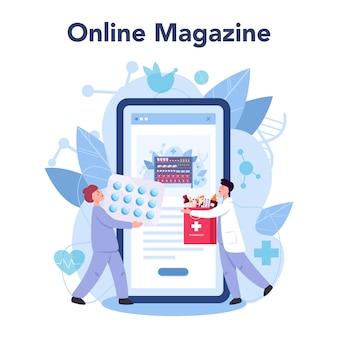 Piattaforma o servizio online di farmacia.