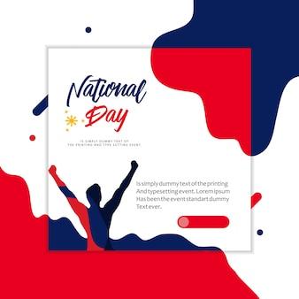 Illustrazione di festa nazionale delle filippine