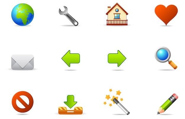 Icone di philos - set 2 | internet e blog