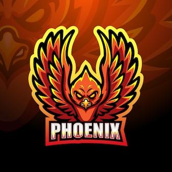 Illustrazione della mascotte di phoenix