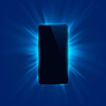 Fondo moderno di progettazione di colore della copertura del telefono. illustrazione vettoriale