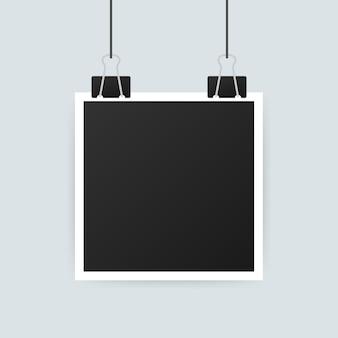 Design della cornice. fotografia realistica con spazio vuoto per l'immagine. .