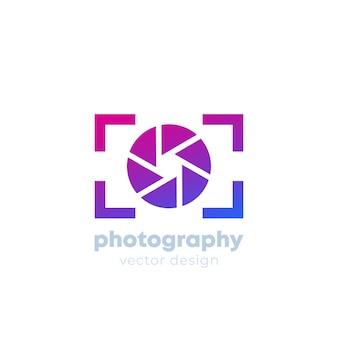 Modello di logo di fotografia