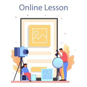 Piattaforma o servizio online per corsi di fotografia