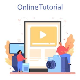 Piattaforma o servizio online del corso della scuola di fotografia