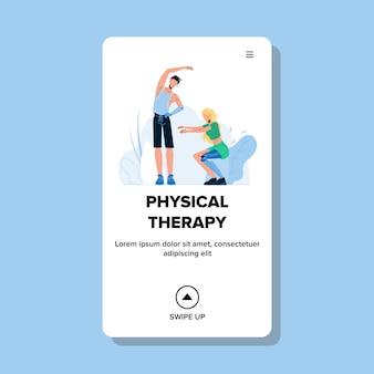 Terapia fisica dopo l'amputazione dell'arto
