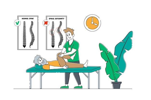 Servizio di terapia fisica in casa di cura