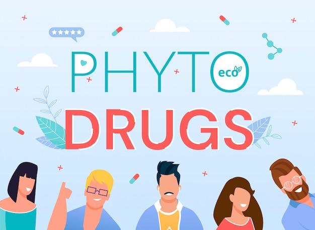 Pubblicità online della farmacia verde di phyto drugs