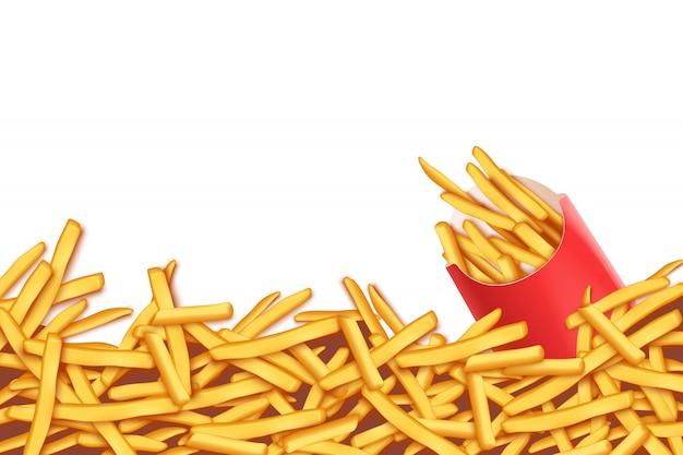 Foto di patatine fritte