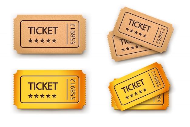 Immagine dei biglietti