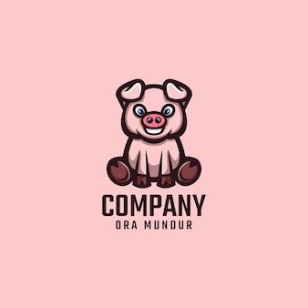 Logo di maiale
